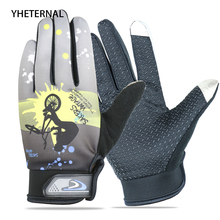 2018 Sping Elasticity Full Finger Gloves Waterproof Touch Screen Anti-Slip Keep Warm Outdoor Sport Bike Gloves Driving Mittens