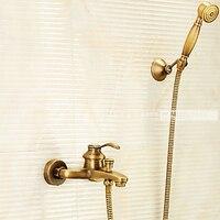 Античная латунь ретро Ванна смеситель для душа ниже M5027AP