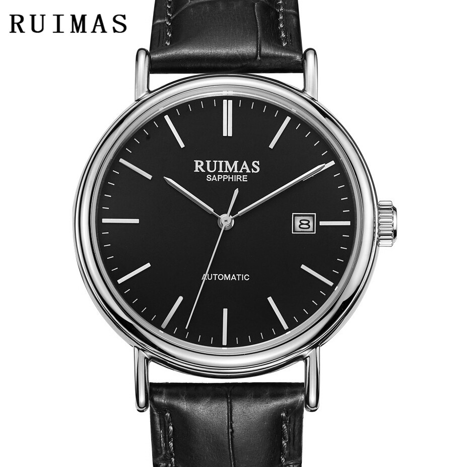 Reloj Hombre 2018 Men Automatic Luxury Classic Watch Mechanical Male Simple Mens Business Wrist Watches RUIMAS Clock MIYOTA 8215 стоимость