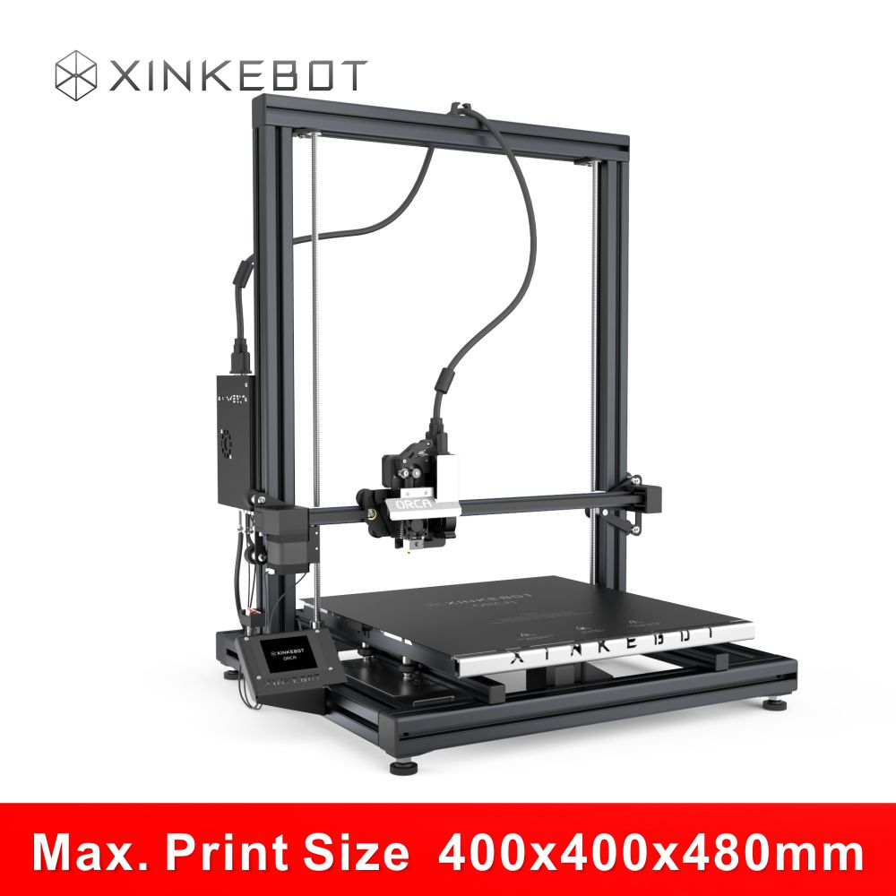 Large Build Volume 400x400x480mm High Resolution Reprap Prusa i3 3D Printer Xinkebot ORCA2 Cygnus