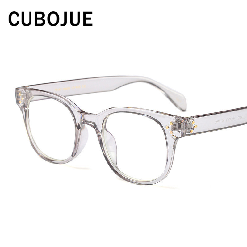 Cubojue Transparent Glasses Men Women Bifocal Optical Prescription Female Progressive