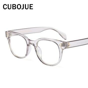 a831551120 Cubojue transparente gafas hombres mujeres Bifocal óptico receta mujer fotocrómico  progresiva Anti azul Multifocal polarizar