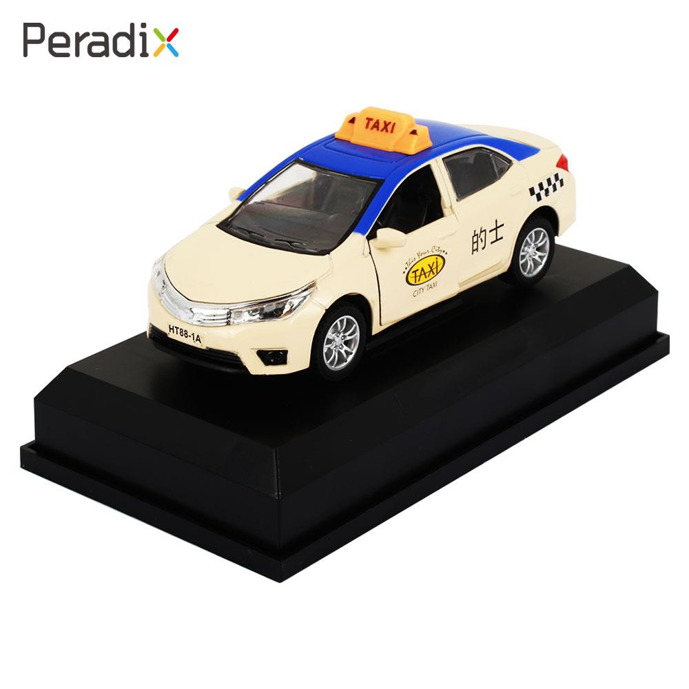 Creative Children Alloy Toy Car 3 Colors Model Collection Kids Alloy Toy Car Vehicle Taxi Alloy Toy Car