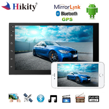 Hikity Android Car Multimedia Player Universal 7″ 2 Din Radio WIFI Buletooth Touch Screen GPS DAB+ Stereo Mirror Link Autoradio
