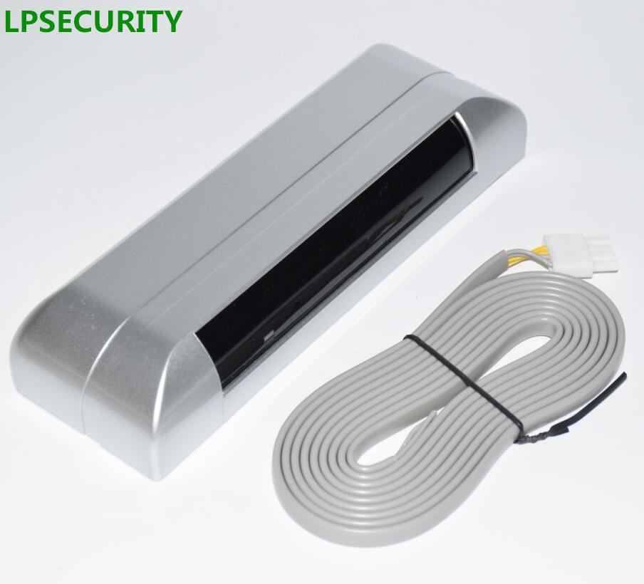LPSECURITY Automatic Sliding Gate Door Presence Sensor/Perimeter Active Infrared Laser Beam Detector Security Bank Door Sensor