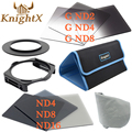 KnightX ND цвет Комплект Фильтров Для Cokin серии P комплект для Canon Sony Nikon D600 D7000 D5200 D3200 DSLR 52 55 58 62 67 72 77 82 ММ