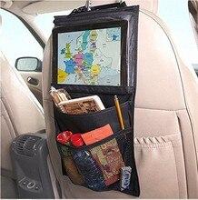 Multi Pocket Felt Organiser Car Styling Back Seat Storage Pouch Car back IPAD bag Bottle Magazine Cup Food Bag