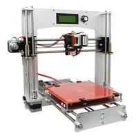 2018 New Aluminum I3 3D Printer DIY Kit Support 5 Filament 1.75mm 0.3mm / 0.35mm
