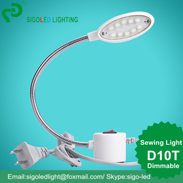 Arbeitslampe Kenntnisreich Freies Shipping-2pcs/lot D10t-0,5 Watt Dimmbare Led Nähmaschine Lampe Industrielle Nähen Licht Tischleuchte