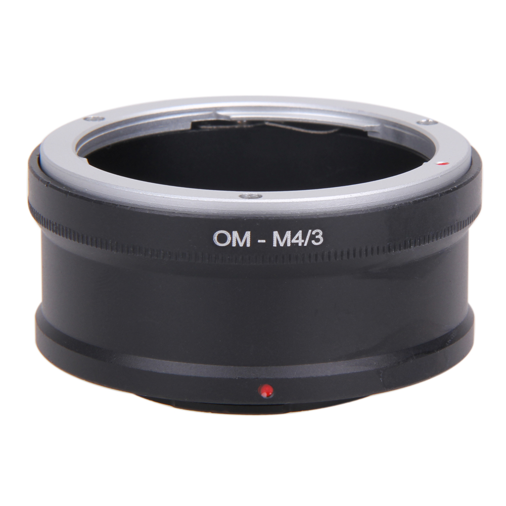 OM-M4/3 Anel Adaptador de Lente Lente OM para MICRO 4/3 M43 Câmera corpo Anel Adaptador de Lente Reversa para Olympus OM-D E-M5 E-PL5 E-PM2 GX1