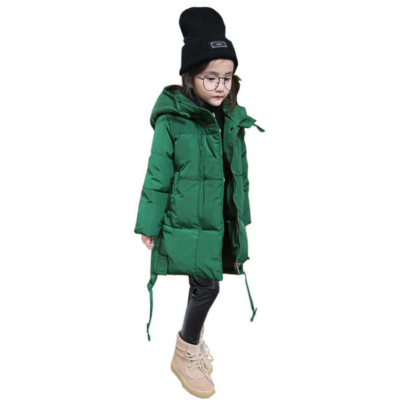 Winter Baby Girls Coats Jackets Infants Outerwear Cotton Hooded Winter Coats For Girls Clothes Down Jackets Kids Coat Y114 zofz kids jackets for girls spring coats cotton zipper outerwear printed hooded boys sweatshirts 2 years old baby girl clothes
