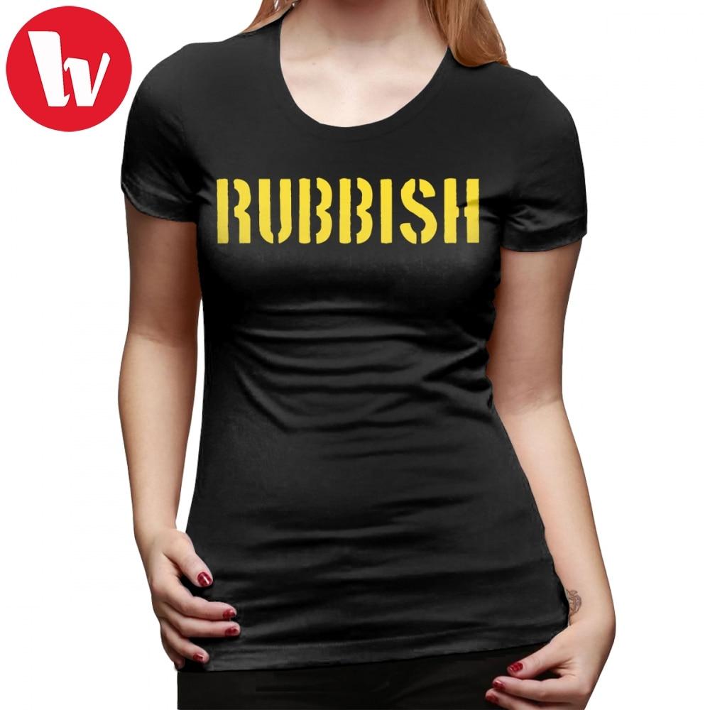 Mean Girls T-Shirt RUBBISH T Shirt O Neck Short-Sleeve Women tshirt Graphic Casual New Fashion Plus Size Purple Ladies Tee Shirt