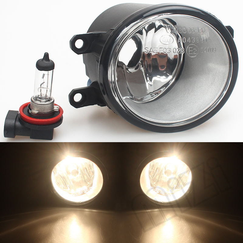 Newest For TOYOTA COROLLA Saloon (E15_) 2007-2013 Fog Lights Halogen Car Styling 81210-0D040 LAMPS AUTO High Quality for lexus rx gyl1 ggl15 agl10 450h awd 350 awd 2008 2013 car styling led fog lights high brightness fog lamps 1set