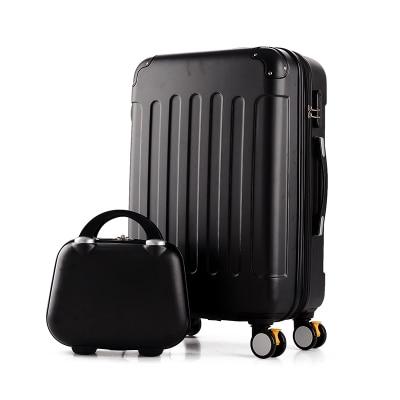 Дорожный Чехол для чемодана на колесиках 20 дюймов, чехол на колесиках, женский косметический чехол, сумка для переноски, дорожные сумки - Цвет: setc