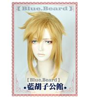 Biamoxer Link Golden Wig Cosplay the Legend of Zelda Cosplay Wigs Hair Role Play Golden Color Halloween Role Play Hair