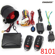 NEW Universal 1-Way Vehicle Car Alarm System Protection Security Keyless Entry Siren 2 Remote Control Burglar hot 8101 CHADWICK uxcell 2 way car alarm vehicle security system pager lcd remote control keyless entry