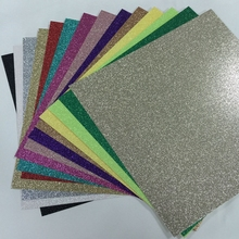 300 stuk 12x12 ''Glitter Craft Papier Cardstock Party Decoratie Cadeaupapier Card Making DIY Plakboek craft
