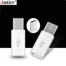 Универсальный USB 3,1 type-C мужской разъем для Micro USB Женский конвертер USB-C адаптер для передачи данных Тип C устройство Черный