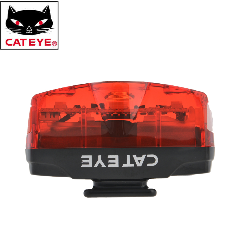 CATEYE Bike Bicycle USB-rechargeable Safety Rear Lights MTB Road Cycling Riding Ultralight Tail Light Bike Warning Flashing Lamp