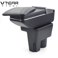 Vtear For Suzuki liana A6 armrest box central Store content box products interior Armrest Storage car styling accessories part