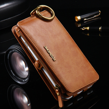 FLOVEME نوت 3 4 5 ريترو محفظة جلدية الحال بالنسبة لسامسونج غالاكسي S6 حافة زائد S7 آيفون XS XR ماكس 5s SE 6 6s 7 8 Plus غطاء