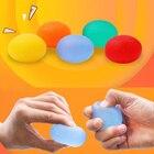 Фитнес Силиконовые Яйцо Ручной Расширитель Захват Рукоятка Массаж Силовые Мяч Предплечья Палец Упраж ✔