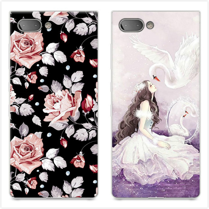 Blackberry Key 2 Case 3D Relief Painting Tpu Soft Back Cover Case Cartoon  Silicone Protector Shell Blackberry Key2 #KO