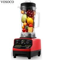 VOSOCOBlender Mixing Machine Ice Crusher Sand Ice Machine Stir Milkshake Soybean Milk Juicer 2L 1500W Food