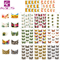 2016 New B111-121 11 sheet/SET  Tip Nail Art French Nail Stickers stickers for nails Nail Decal Manicure Flower for Women