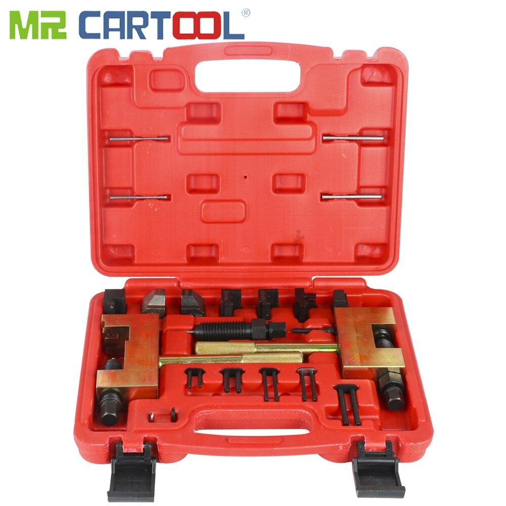 MR CARTOOL moteur chaîne de distribution enlèvement Installer chaîne disjoncteur pour Mercedes Benz rivetage outil M271 M272 M273 M274 M276