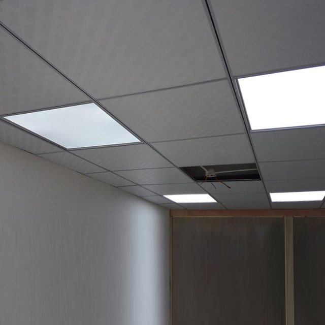 Charmant Led Panel Lights Office Decoration LED Flat Panel Gypsum Board Aluminum  Gusset Panel Light Embedded Office