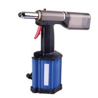 2015 Yeni Varış Hava Perçinleme Fındık Tabancası Hava Çekme Setter Araçları Tırnak Çekme Pnömatik Perçin Tabancası 3.2mm-5.0mm Pnömatik Riveter SAT0028