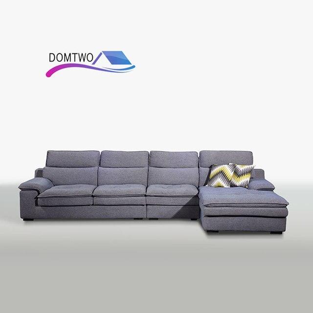 Best Price Furniture living room L shped corner home down sofa