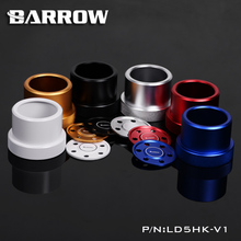 Barrow D5 / MCP655 Series Pumps Dedicated Conversion Kit D5 Modified Metal Cover for Cool Water Cooling System 5 Colors LD5HK-V1