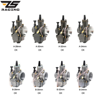 ZS Racing OKO 28 30 32 34 28MM 30MM 32MM 34MM Racing Carburetor For Scooter PWK Carburador With Power Jet