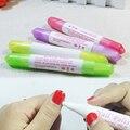1pc Nail Art Corrector Pen Remove Mistakes+3 Tips Nail Polish Corrector Cleaner Erase Manicure Varnish Nail Polish Remover Pen