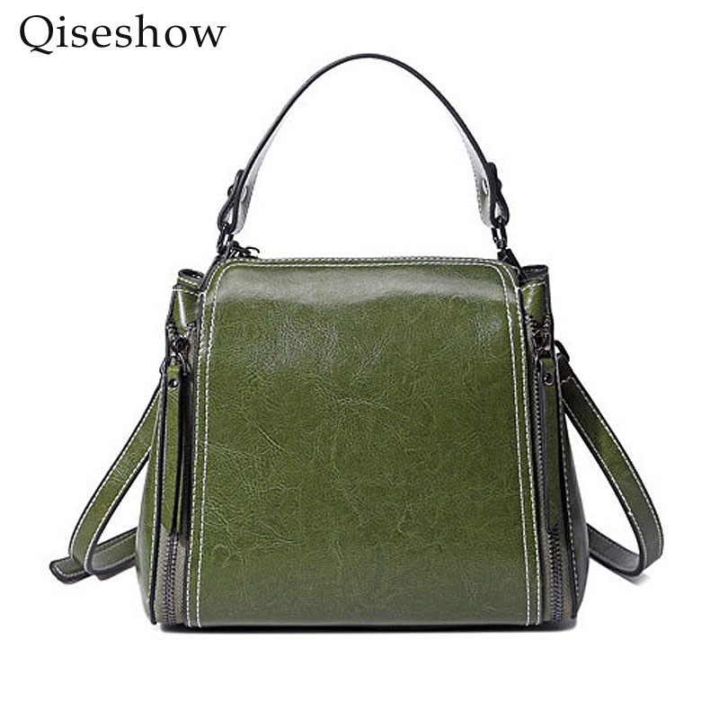 Oil wax Genuine Leather Handbag Luxury Handbags Women Bags Designer Bolsa Feminina Sac a Main Bolsos Tote Borse shoulder bag полотенцесушитель domoterm дмт109 v4