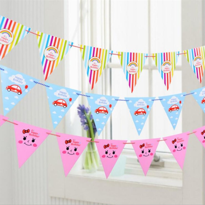 New Year 2018 home furnishings baby hundred days birthday birthday happy party cute Citi decorative items