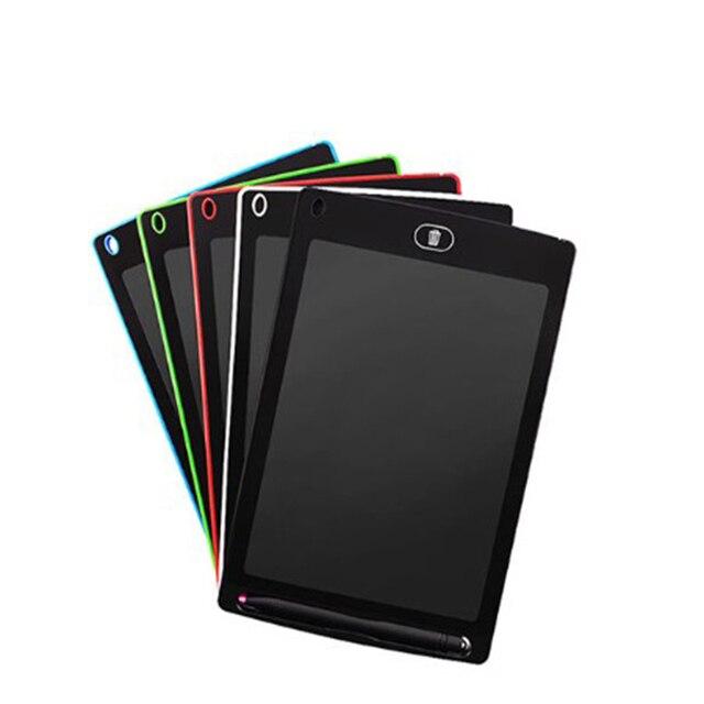 2 unids/lote /portátil inteligente 8,5 pulgadas negro dibujo escritura tableta electrónica sin papel LCD e-escritura escritura tablero de mensajes