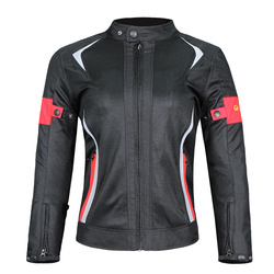 Riding Tribe Women's Motorcycle Protective Gear Jacket & Moto Pants Suit Jacket Waterproof Mesh Touring Motorbike Clothing Set