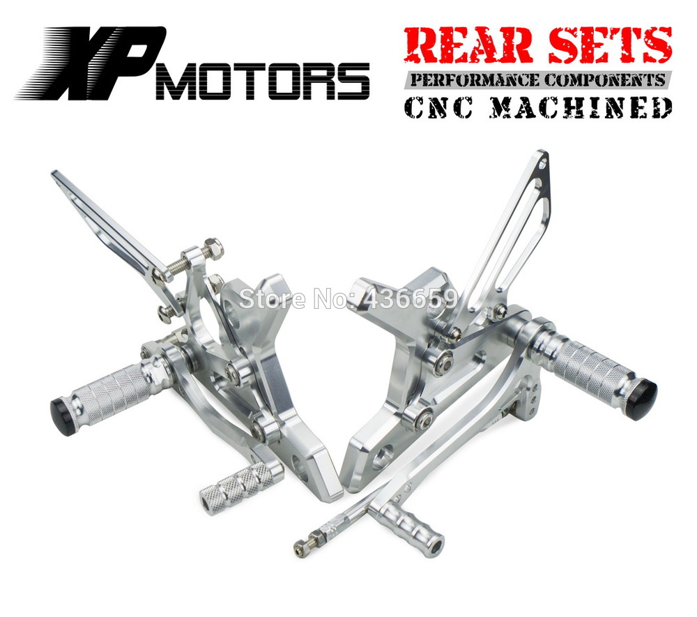 Race CNC Foot Control Kit Adjustable Foot Pegs Rear Sets