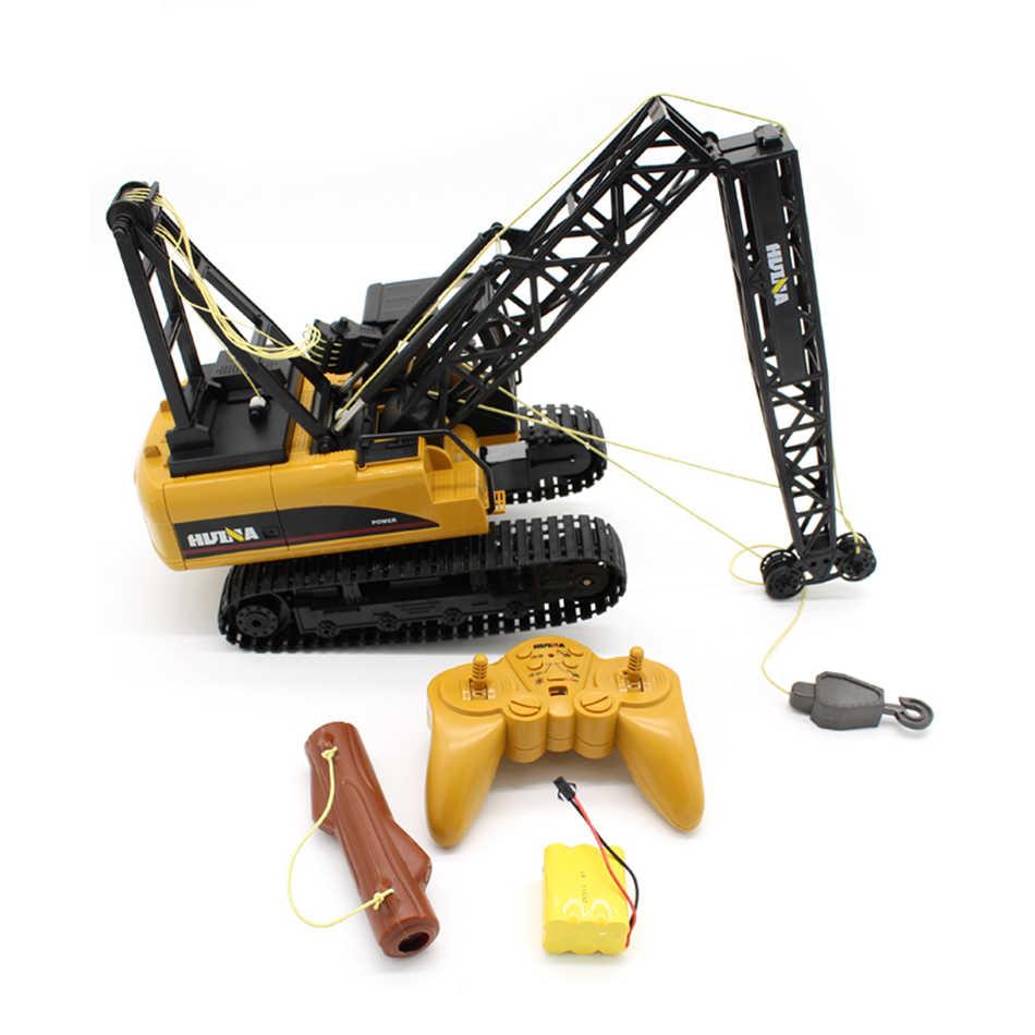 Huina Rc модель Huina игрушки для детей игрушки для мальчиков Радиоуправляемый кран большой Rc грузовик 1:14 большой хобби Строительство инженерный грузовик