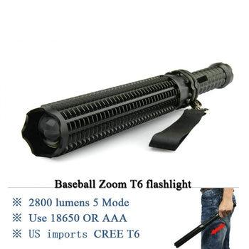 tatical flashlight telescopic zoom baton hunting 18650 charge torch flashlight AAA xml-t6 lanterna self defense waterproof lamp sitemap 12 xml