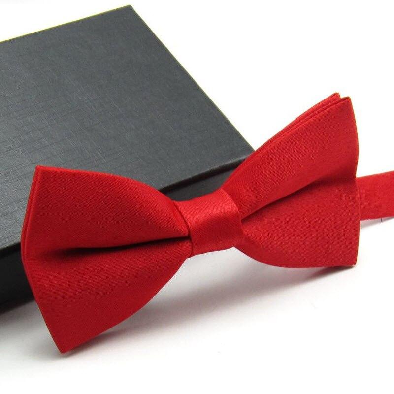 Matt Plain Bowties Mens Tuxedo General Party Neckties Butterfly Jacquard Bowtie For Adults, 500pcs