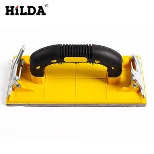 Image 3 - Hilda Sandpaper Holder Grinding Polished Tools For Walls Woodworking Polishing Sandpaper Holder Abrasive Tools