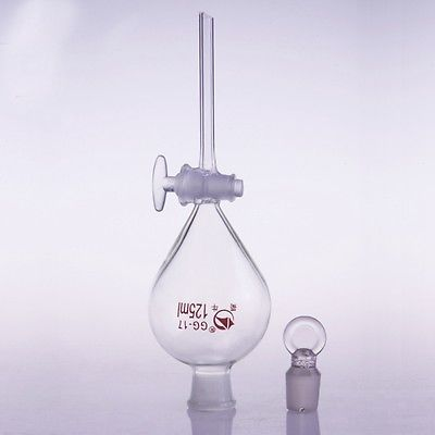 250ml 24/29 Joint Chemistry Laboratory Glass Ball Shaped Separatory Funnel with Glass Stopcock Free Ship 300mm 24 29 joint borosilicate glass jacket allihn bulb condenser distillation for laboratory