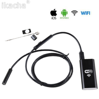 8 5mm 6 LED Borescope Android HD 720P Wireless WIFI Endoscope Video Inspection Camera Pixels 1M