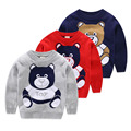 Autumn Winter Boy Sweater Pullover Baby Girls Boys Cute Bear Sweaters Knitwear Children Clothes Kids Long Sleeve Outerwear