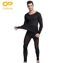 Codysale 2016 mode mens underwear winter 37 grad thermische underwear set ultradünne wärme lange unterhosen hohe elastische warmen anzug