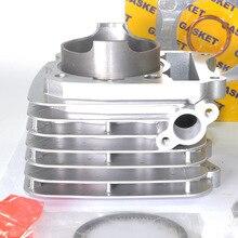 High Quality Motorcycle Engine Parts For Suzuki DR200 DF200 VAN200 Cylinder Block & Piston Kit & Gasket & Port Intake NEW 66mm cylinder piston gasket engine rebuild kit for suzuki dr200 gs200 df200 van200